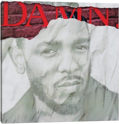 DAMN Remixed Canvas Art Print