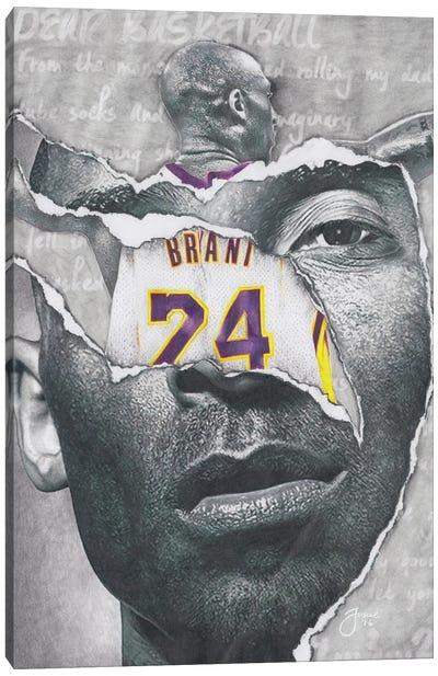 Dear, Basketball Canvas Art Print
