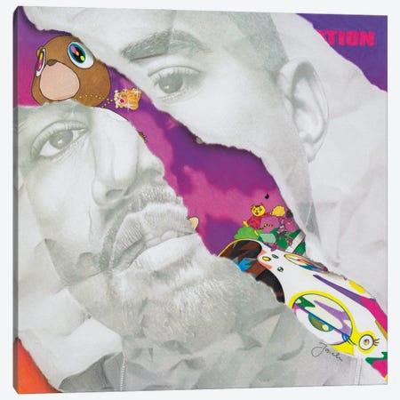 Graduation Remixed Canvas Print #JJS8} by Josiah Jones Canvas Art Print