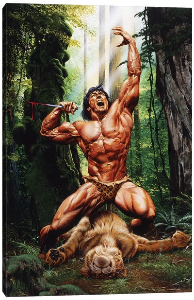 Lord of the Jungle Canvas Art Print
