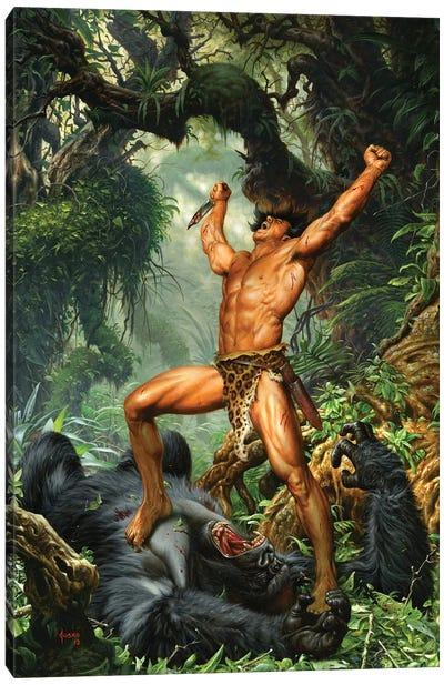 Tarzan of the Apes 100th Anniversary Canvas Art Print