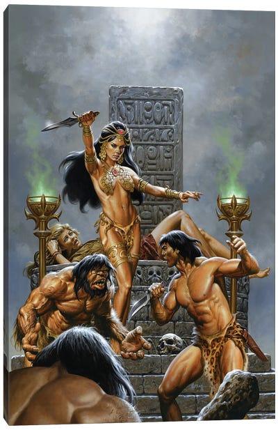 Return Of Tarzan Canvas Art Print