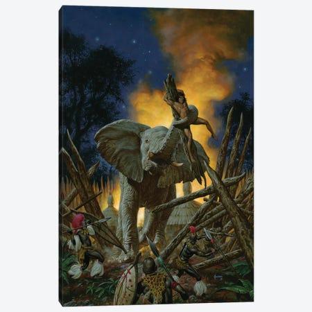 Son Of Tarzan Canvas Print #JJU30} by Joe Jusko Canvas Artwork