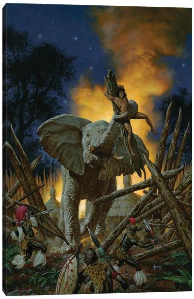 Son Of Tarzan Canvas Art Print