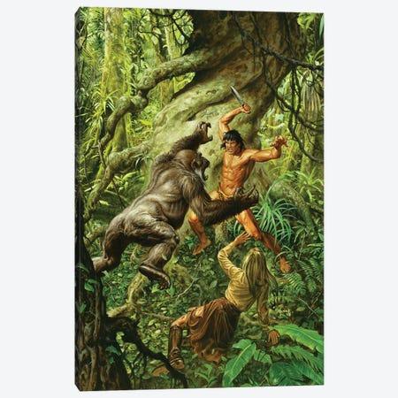 Tarzan Of The Apes Canvas Print #JJU31} by Joe Jusko Canvas Wall Art