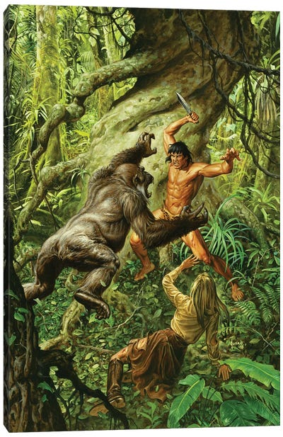 Tarzan Of The Apes Canvas Art Print