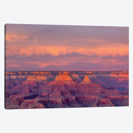 Arizona, Grand Canyon National Park, South Rim, Sunset Canvas Print #JJW21} by Jamie & Judy Wild Art Print