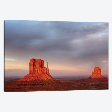 Arizona, Monument Valley, The Mittens Canvas Print #JJW22} by Jamie & Judy Wild Art Print
