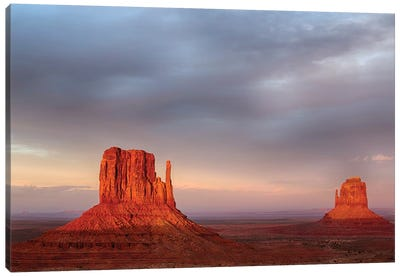 Arizona, Monument Valley, The Mittens Canvas Art Print
