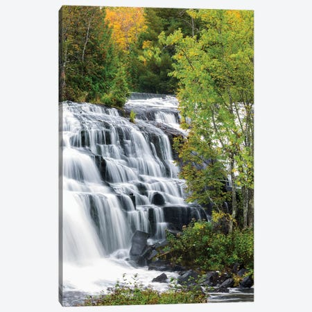 Michigan, Ontonagon County, Bond Falls I Canvas Print #JJW26} by Jamie & Judy Wild Canvas Art