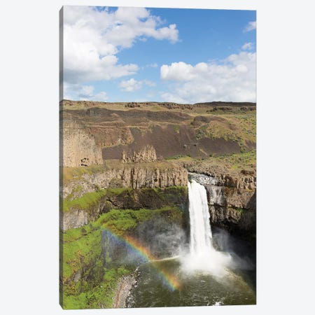 Washington State, Palouse Falls State Park, Palouse Falls Canvas Print #JJW38} by Jamie & Judy Wild Canvas Artwork