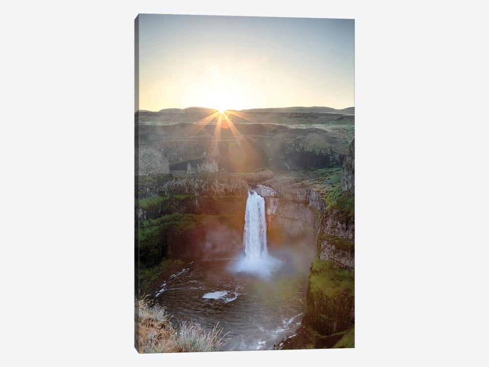 Washington State, Palouse Falls State Park, Palouse Falls, sunrise by Jamie & Judy Wild 1-piece Canvas Wall Art