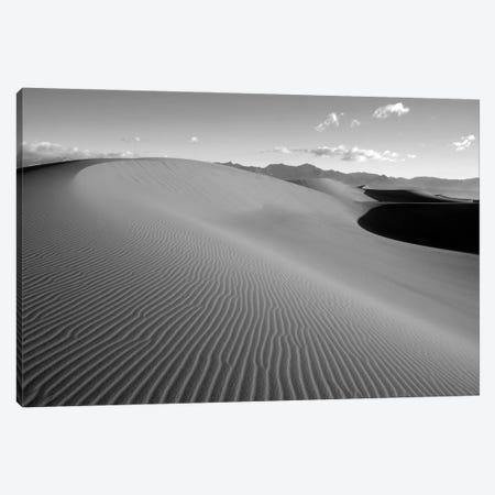 USA, California. Death Valley National Park, Mesquite Flats Sand Dunes. Canvas Print #JJW55} by Jamie & Judy Wild Canvas Print