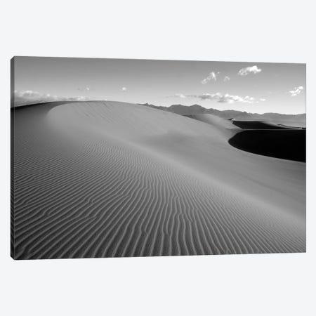 USA, California. Death Valley National Park, Mesquite Flats Sand Dunes. Canvas Print #JJW55} by Jamie & Judy Wild Canvas Print