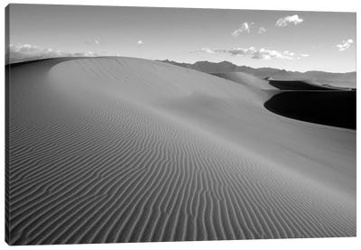 USA, California. Death Valley National Park, Mesquite Flats Sand Dunes. Canvas Art Print