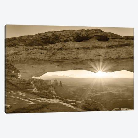 USA, Utah. Canyonlands National Park, Island in the Sky, Mesa Arch, sunrise. Canvas Print #JJW56} by Jamie & Judy Wild Art Print