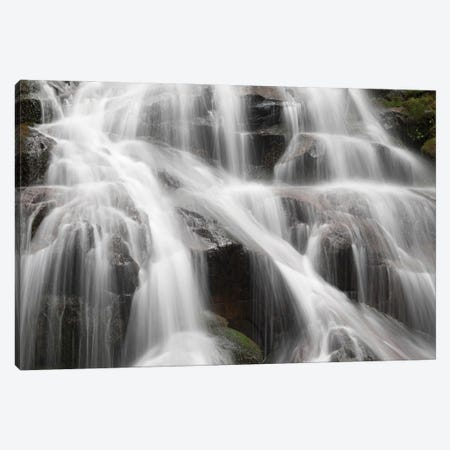 USA, Washington State. Central Cascades, South Bessemer area, Bessemer Creek Falls. 3-Piece Canvas #JJW57} by Jamie & Judy Wild Canvas Print