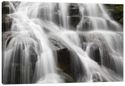 USA, Washington State. Central Cascades, South Bessemer area, Bessemer Creek Falls. Canvas Art Print
