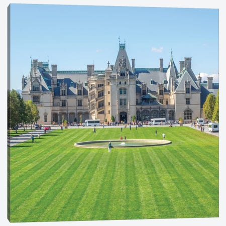 Main Entrance, Biltmore House, Biltmore Estate, Buncombe County, North Carolina, USA Canvas Print #JJW5} by Jamie & Judy Wild Canvas Art
