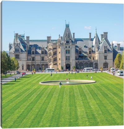 Main Entrance, Biltmore House, Biltmore Estate, Buncombe County, North Carolina, USA Canvas Art Print