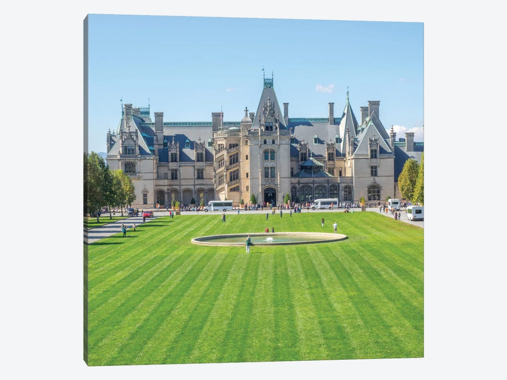 Main Entrance, Biltmore House, Biltmore Estate, Buncombe County, North Carolina, USA by Jamie & Judy Wild 1-piece Canvas Artwork