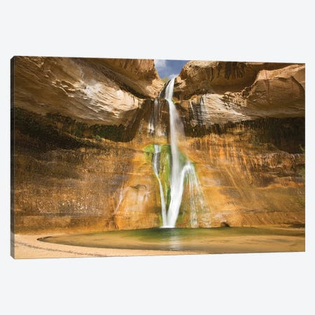 Lower Calf Creek Falls, Grand Staircase-Escalante National Monument, Utah, USA Canvas Print #JJW8} by Jamie & Judy Wild Canvas Art Print