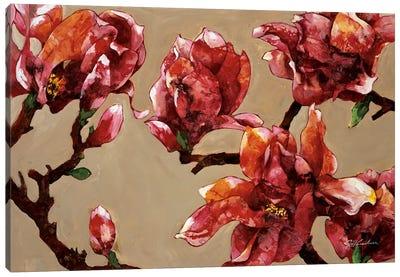 Elegant Magnolia Canvas Art Print