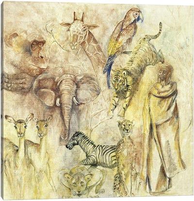 Wild Animals Canvas Art Print