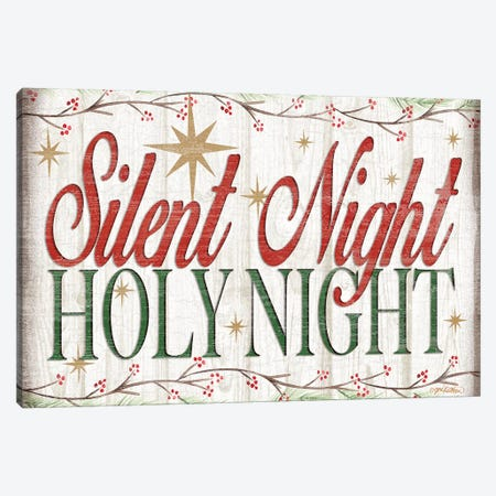 Adore Him Holy Night II Canvas Print #JKI2} by Jen Killeen Canvas Art Print