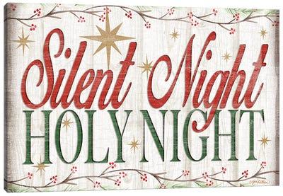 Adore Him Holy Night II Canvas Art Print