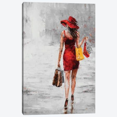City Shopping II Canvas Print #JKO2} by Jolanta Kowalik Canvas Art Print