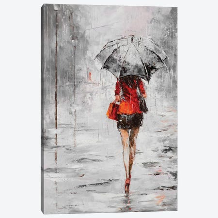 City Shopping IV Canvas Print #JKO4} by Jolanta Kowalik Canvas Art