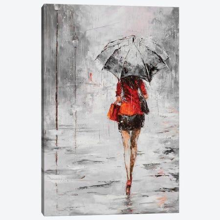 City Shopping IV Canvas Print #JKO4} by Jolanta Kowalik Canvas Art