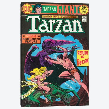 DC Tarzan No 238 Canvas Print #JKU3} by Joe Kubert Canvas Art