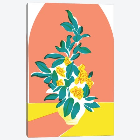 Floral I Canvas Print #JKY11} by Jordan Kay Canvas Print