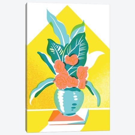 Floral II Canvas Print #JKY12} by Jordan Kay Art Print