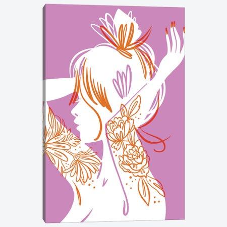 Hair Canvas Print #JKY13} by Jordan Kay Canvas Print