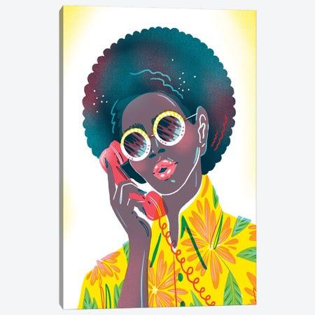 Phone Call Canvas Print #JKY16} by Jordan Kay Canvas Art