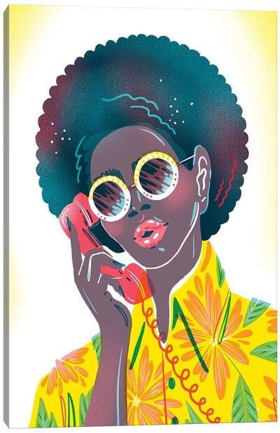 Phone Call Canvas Art Print