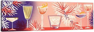 Winter Cocktails Canvas Art Print