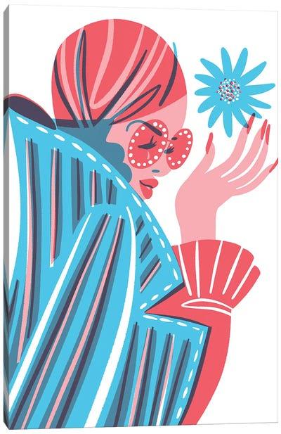 Biba Girl Canvas Art Print