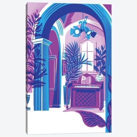 Blue Interior Canvas Print #JKY4} by Jordan Kay Canvas Print