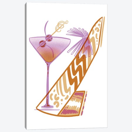 Cocktail Shoe Canvas Print #JKY8} by Jordan Kay Canvas Wall Art
