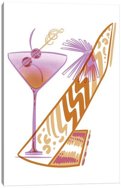 Cocktail Shoe Canvas Art Print
