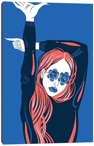 DG Sunglasses Canvas Art Print