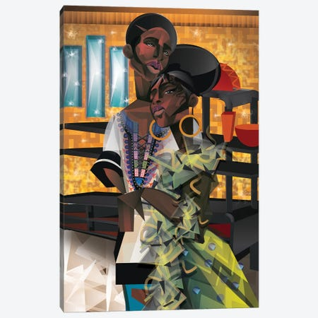 Do You Love What You Feel? Canvas Print #JLC1} by Jaleel Campbell Canvas Artwork