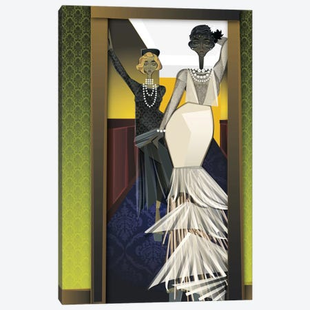 The Girls Canvas Print #JLC4} by Jaleel Campbell Canvas Print