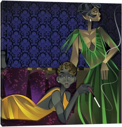 Two Women Canvas Art Print