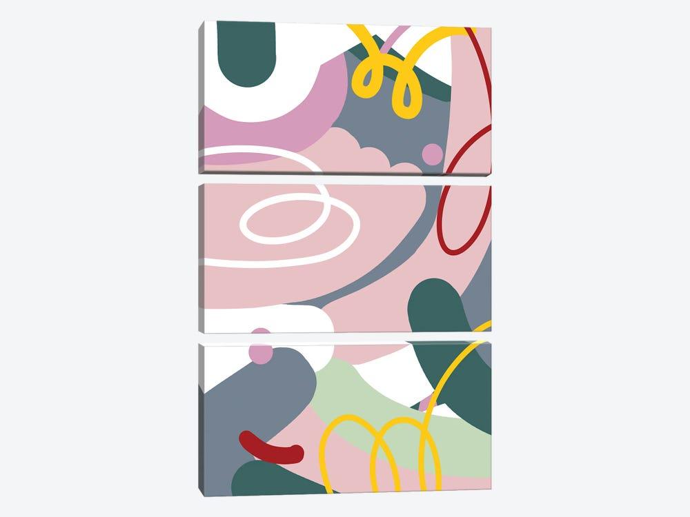 Dust Bunnies by Jilli Darling 3-piece Art Print