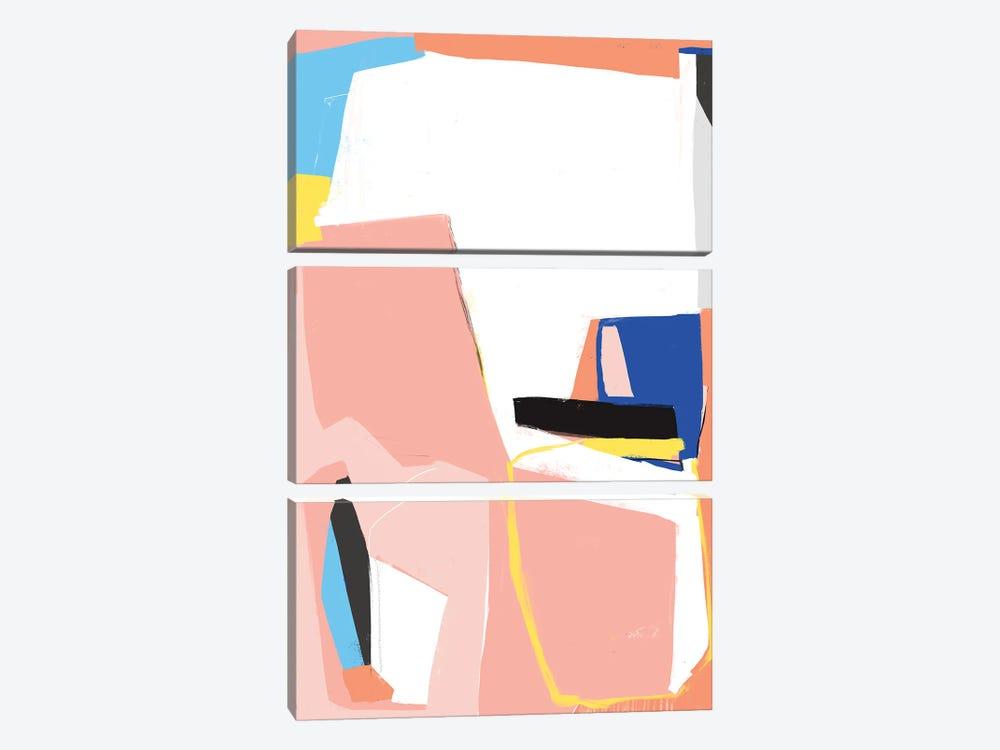 Field Studies I by Jilli Darling 3-piece Canvas Art Print